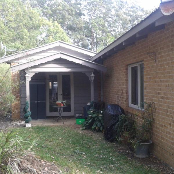 front porch paint job